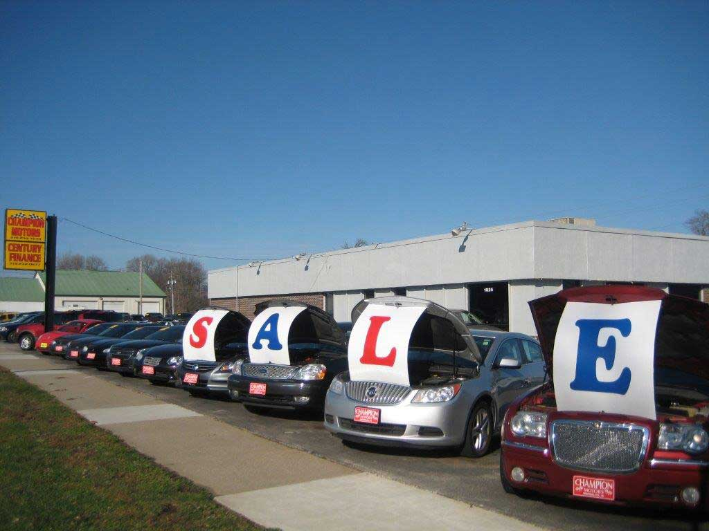 champion motors used cars waterloo ia dealer
