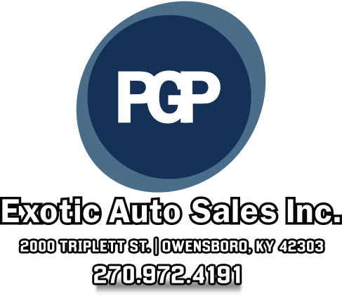 P.G.P. Exotic Auto Sales Inc. Logo