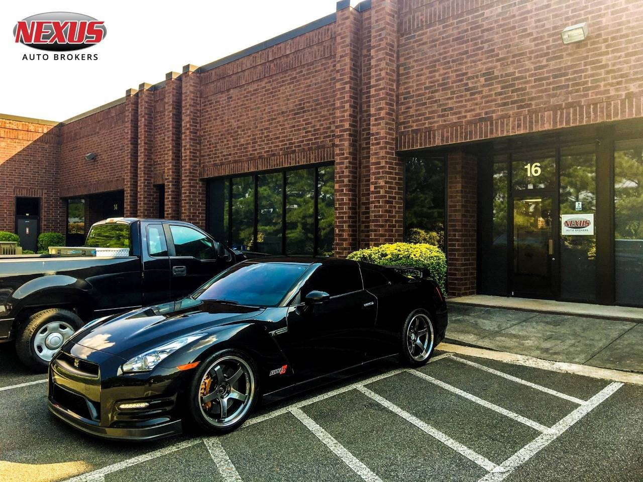 never thought i would be in a gt r but thanks to nexus for providing excellent trade on my lamborghini and offering this high horsepower gt r alpha9 grp - How To Become A Auto Broker