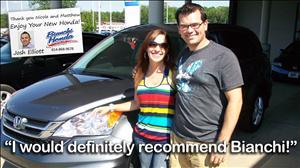 Customer Testimonials - Bianchi Honda Erie PA