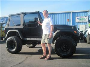 2005 Jeep Wrangler Automatic Transmission 4 Inch Lift. Mr T Shaver Lake, Ca