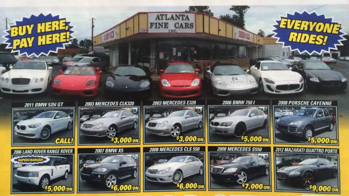 Used Cars Used Cars Specials Jonesboro Ga 30236 Atlanta Fine Cars