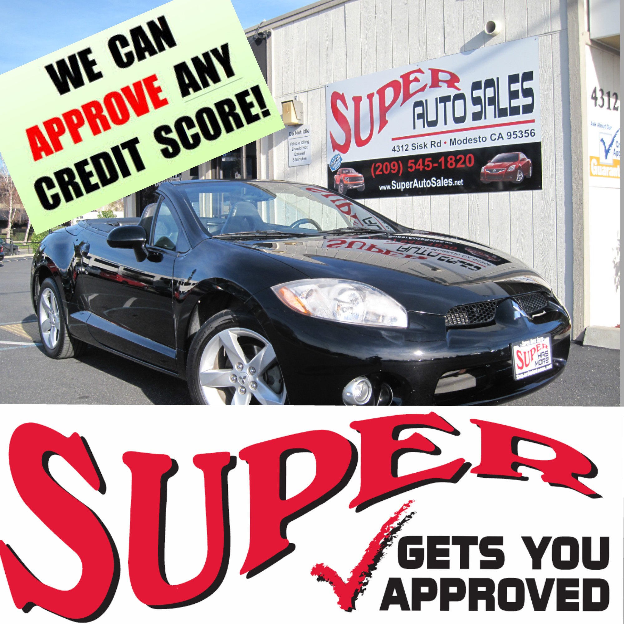 Thompsons Auto Group New Used Cars For Sale Toyota >> Super Auto Sales Used Cars Modesto Ca Dealer ...
