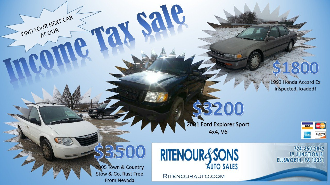 used cars junk yards specials ellsworth pa 15331 ritenour sons