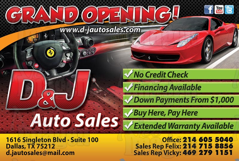 used cars specials dallas tx 75212 d j auto sales. Black Bedroom Furniture Sets. Home Design Ideas