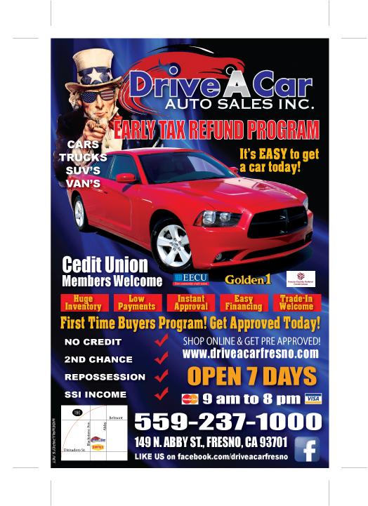 used cars vans specials fresno ca 93701 drive a car auto sales