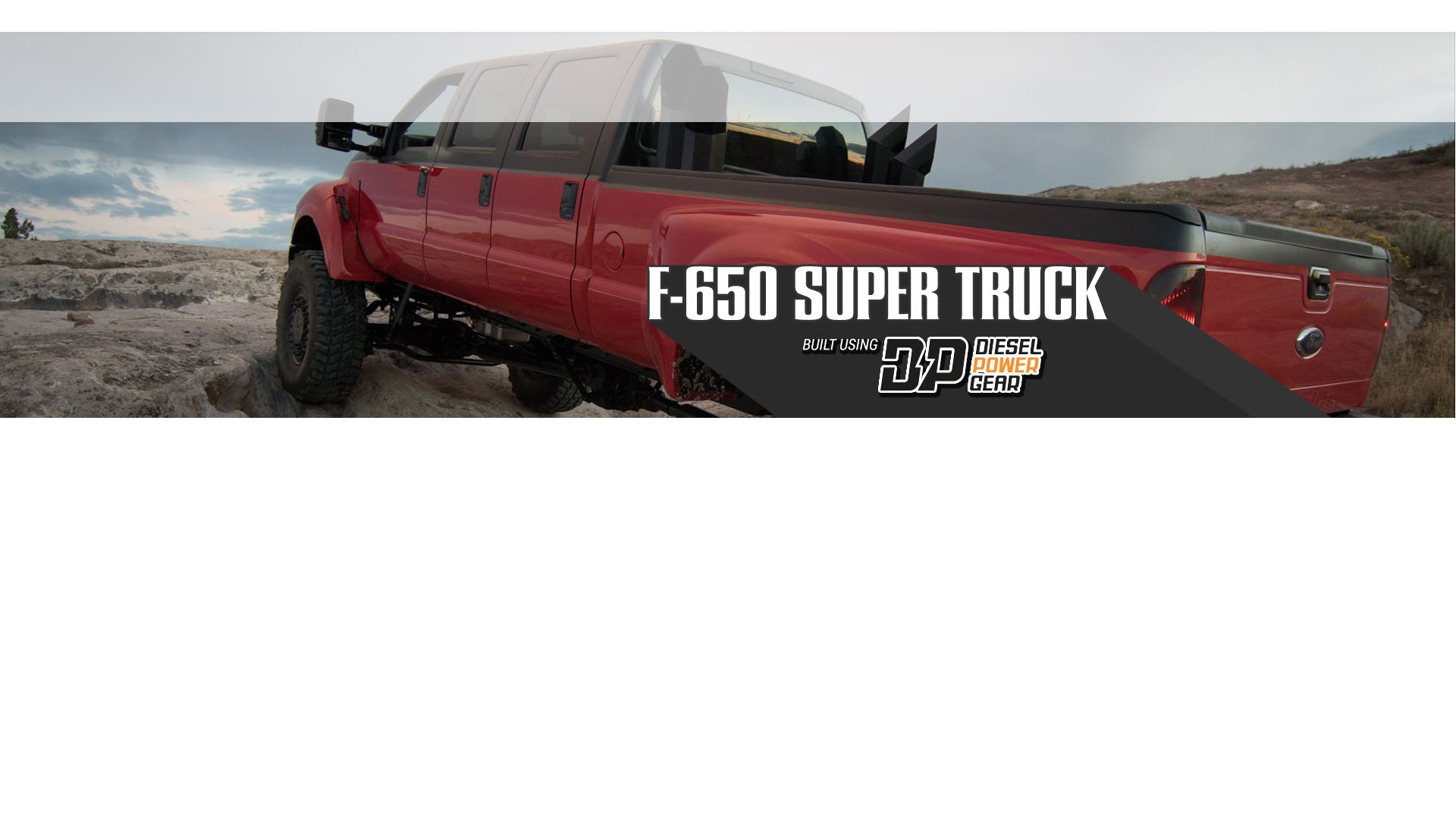 F-650 Super Truck
