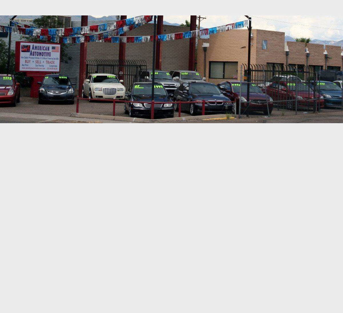American Automotive LLC - Used Cars - Tucson AZ Dealer
