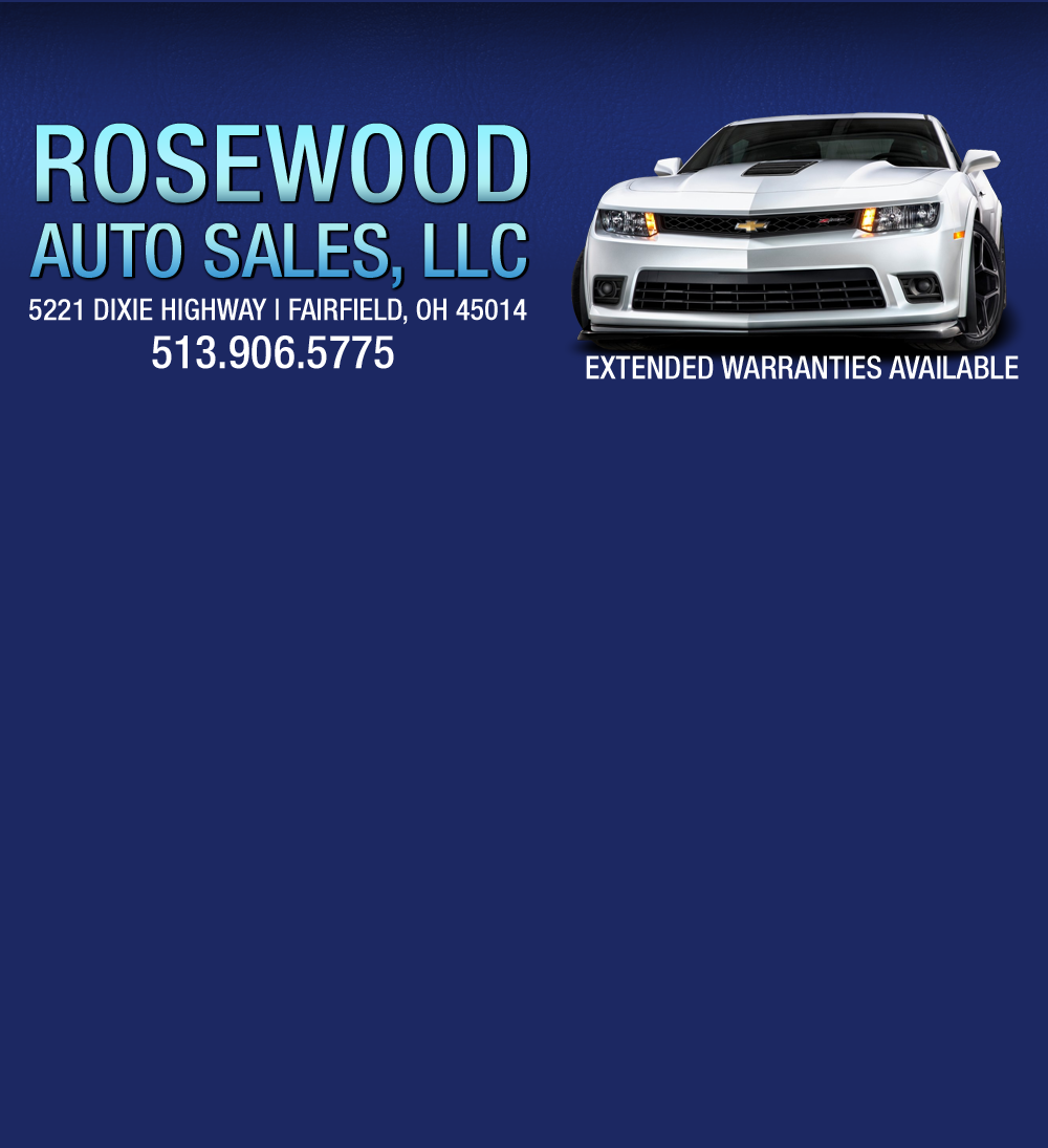 Rosewood Auto Sales LLC     Fairfield OH Dealer