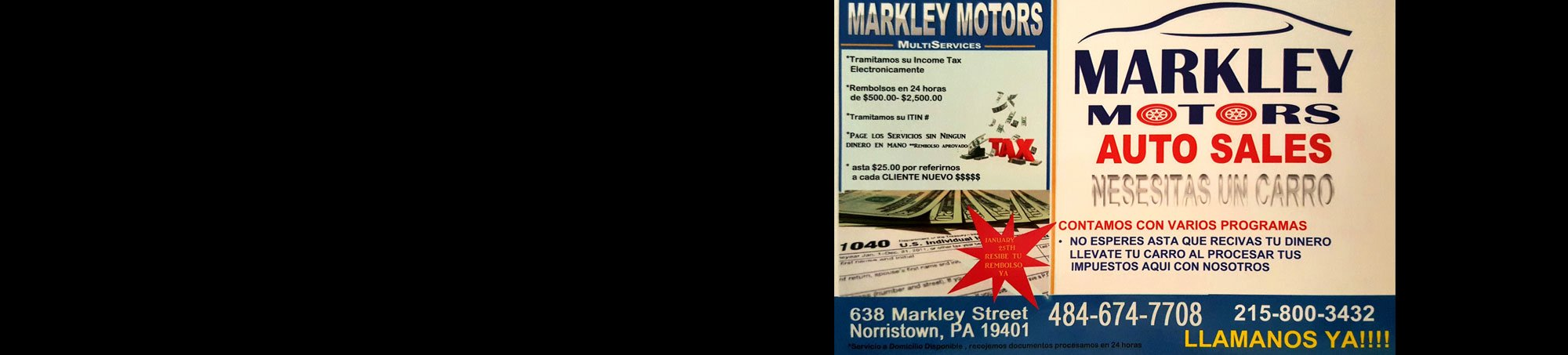 Markley motors used cars norristown pa dealer for Markley motors service coupons