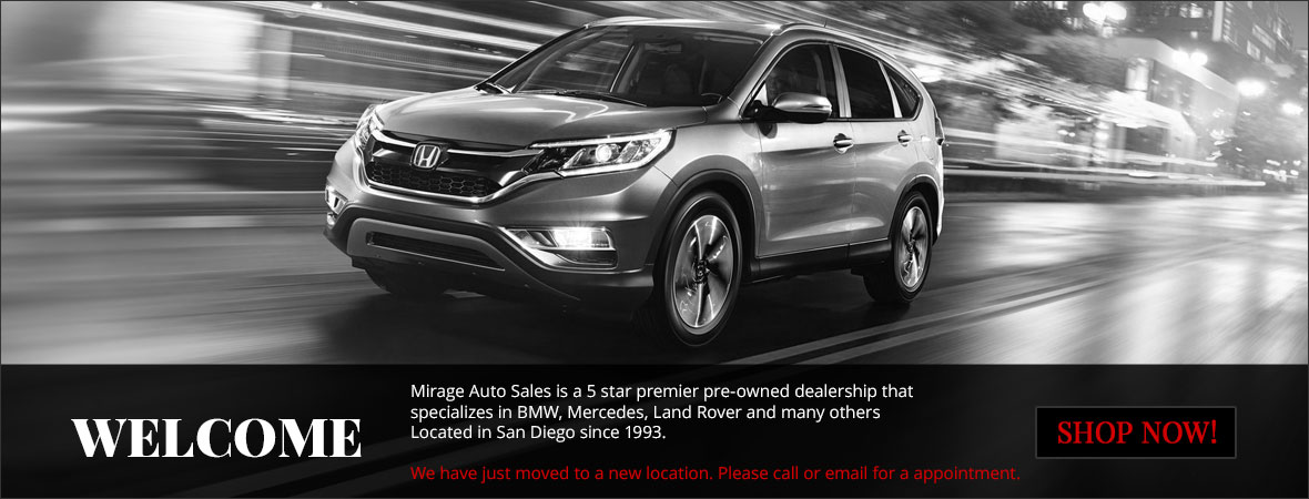Mirage Auto Sales >> Mirage Auto Sales Used Cars San Diego Ca Dealer