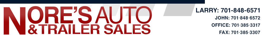 NORE'S AUTO & TRAILER SALES - Kenmare, ND