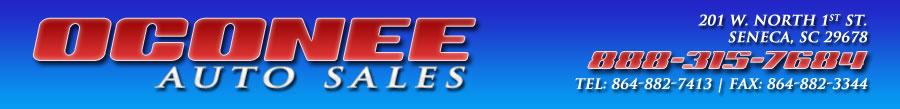 OCONEE AUTO SALES - Seneca, SC