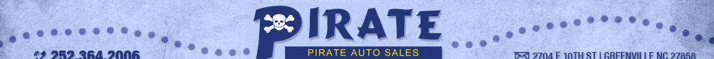 PIRATE AUTO SALES - Greenville, NC
