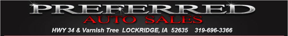 PREFERRED AUTO SALES - Lockridge, IA