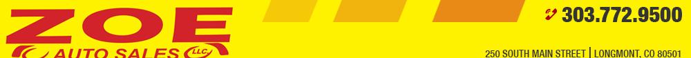 Zoe Auto Sales - Longmont, CO