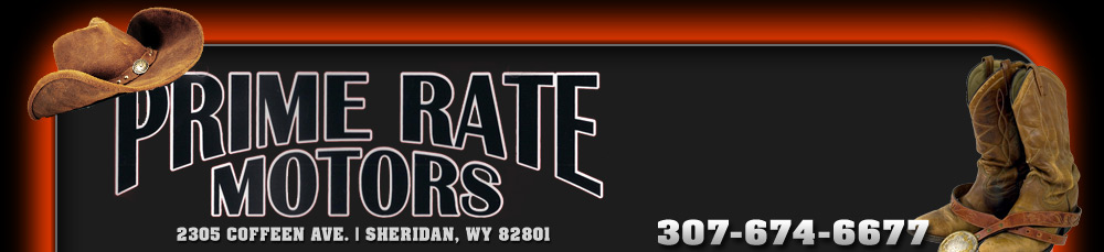 PRIME RATE MOTORS - Sheridan, WY