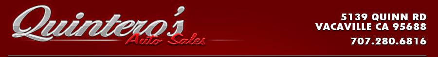 Quintero's Auto Sales - Vacaville, CA