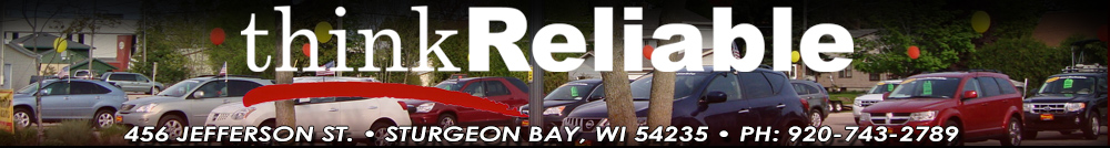 RELIABLE AUTOMOBILE SALES, INC - STURGEON BAY, WI