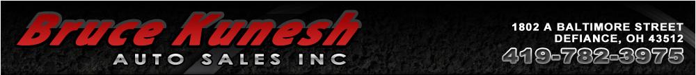 Bruce Kunesh Auto Sales Inc - Defiance, OH