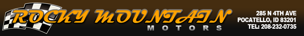 ROCKY MOUNTAIN MOTORS - Pocatello, ID
