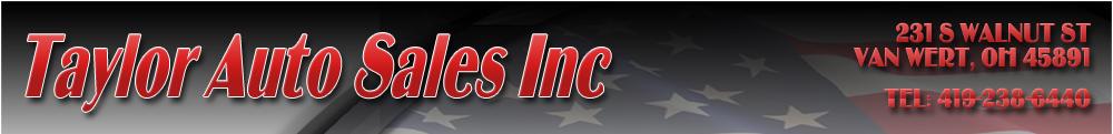 Taylor Auto Sales Inc - Van Wert, OH