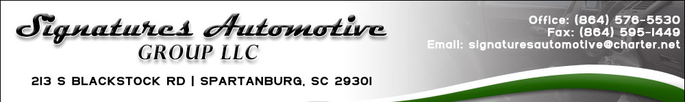 SIGNATURES AUTOMOTIVE GROUP LLC - Spartanburg, SC