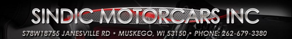 SINDIC MOTORCARS INC - Muskego, WI
