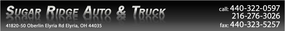 Sugar Ridge Auto & Truck - Elyria, OH