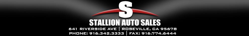 Stallion Auto Sales llc - ROSEVILLE, CA