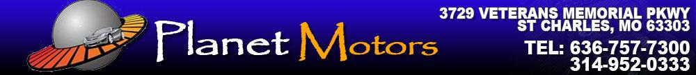 Planet Motors - Saint Charles, MO