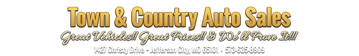Town and Country Auto Sales - Jefferson City, MO