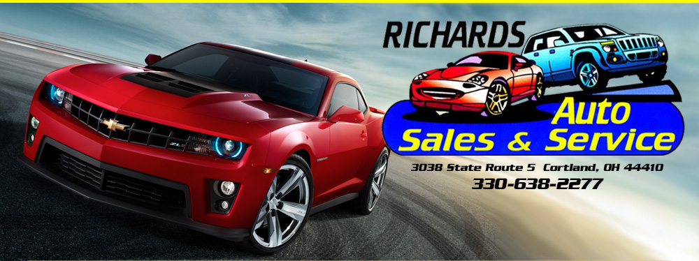 Richards Auto Sales & Service LLC - Cortland, OH