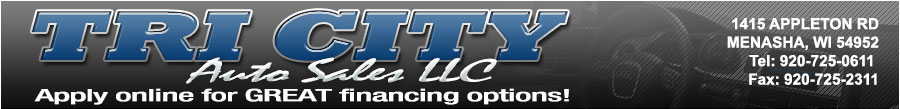 TRI CITY AUTO SALES LLC - Menasha, WI