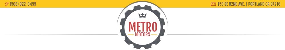 Metro Motors - Portland, OR