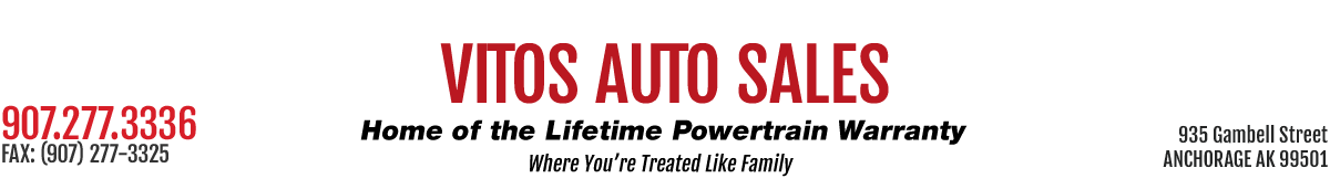Vito's Auto Sales #1 - ANCHORAGE, AK