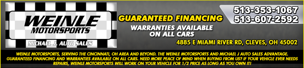 WEINLE MOTORSPORTS - Cleves, OH