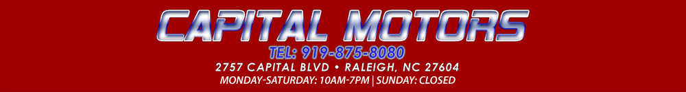 Capital Motors - Raleigh, NC