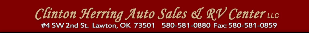Clinton Herring Auto Sales & RV Center LLC - Lawton, OK