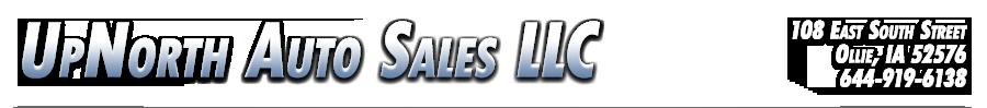 UpNorth Auto Sales LLC - Ollie, IA