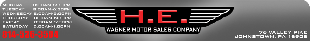 H.E. Wagner Motor Sales Company - Johnstown, PA