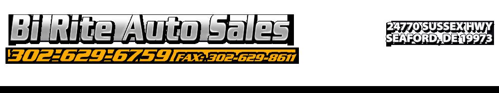 Bi Rite Auto Sales - Seaford, DE