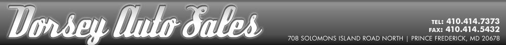 Dorsey Auto Sales - Prince Frederick, MD
