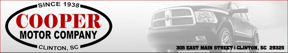 Cooper Motor Company - Clinton, SC