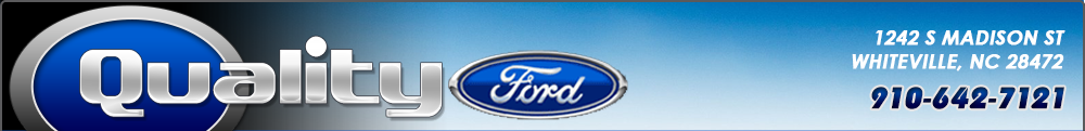 Quality Ford - Whiteville, NC