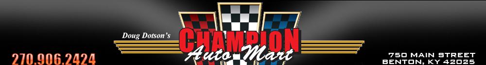 Doug Dotson's Champion Auto Mart - Benton, KY