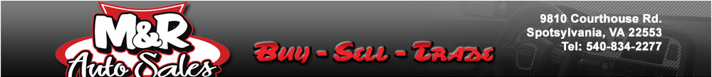 M & R Auto Sales - Fredericksburg, VA