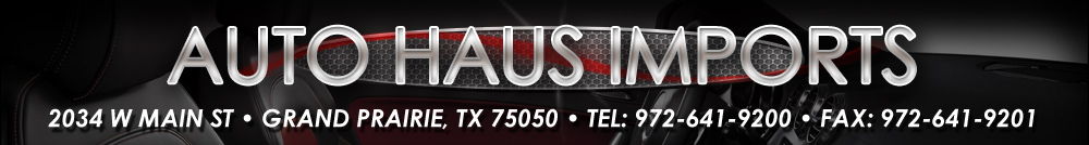 Auto Haus Imports - Grand Prairie, TX