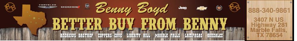 BENNY BOYD MARBLE FALLS - Marble Falls, TX