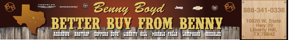 BENNY BOYD LIBERTY HILL - Liberty Hill, TX